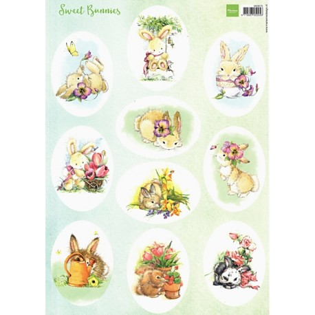 Papír A4 Sweet Bunnies (MD)