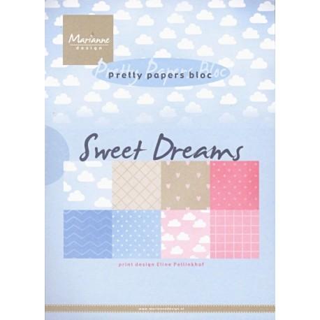 Sada papírů A5 Sweet Dreams (MD)