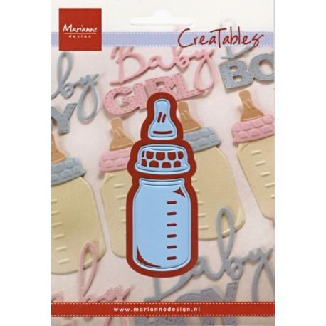 Vyřezávací šablony - Dětská láhev (MD)