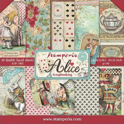 Sada papírů 30,5x30,5 190g Alice