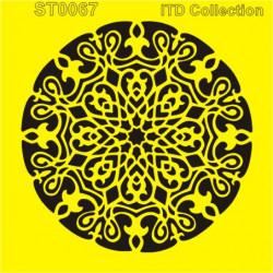 Šablona ITD - Mandala 16x16