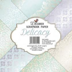 Sada papírů Delicacy 20x20 (Decorer)