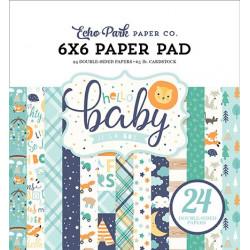 Sada papírů 15x15 Hello Baby Boy (EP)