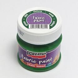 Barva na textil 50ml - zelená (Pentart)