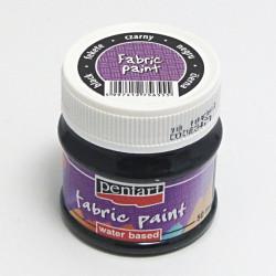 Barva na textil 50ml - černá (Pentart)
