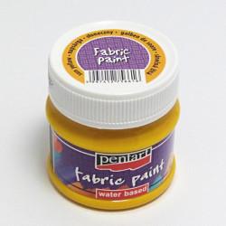 Barva na textil 50ml - sluneční žlutá (Pentart)