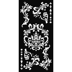 Šablona Mix Media 12x25 - Různé ornamenty (Stamperia)