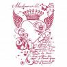 Šablona - Královské srdce (A4)