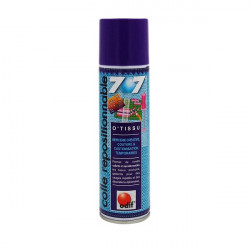 Přenositelné lepidlo na textil ve spreji, 250ml