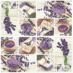 Lavender Spa Squares 33x33