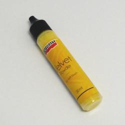 Velvet - sametový pudr 30ml, citrónově žlutý