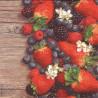 Jahody, borůvky, ostružiny 33x33