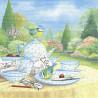 Nedělní snídaně, modřinky 33x33