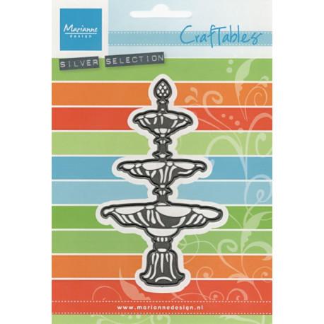 Vyřezávací šablona - fontána (MD)