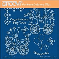 Akrylová deska - gratulace k narození miminka (GP)