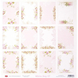 White Day 07 - 30,5x30,5 scrapbook (Craft&You)