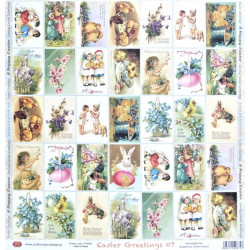 Easter Greetings 07 - 30,5x30,5 scrapbook (Craft&You)