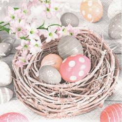 Hnízdo s vajíčky 25x25