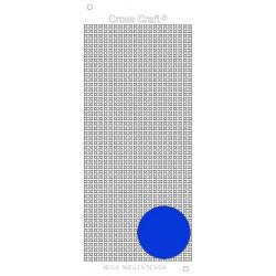 Samolepky křížky - modrá lesklá (Nellie´s Choice)