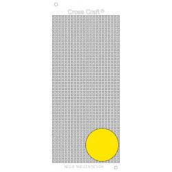 Samolepky křížky - žlutá (Nellie´s Choice)