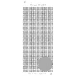 Samolepky křížky - stříbrná (Nellie´s Choice)