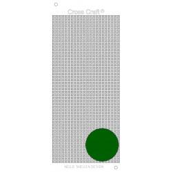 Samolepky křížky - tmavá zelená (Nellie´s Choice)