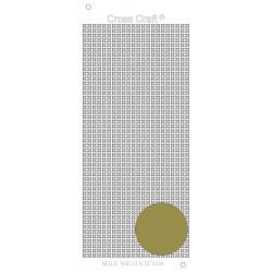 Samolepky křížky - zlatá (Nellie´s Choice)