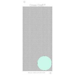 Samolepky křížky - ledová modrá (Nellie´s Choice)