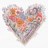Jarní srdce 33x33