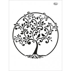 Šablona - Strom života, vel. A4