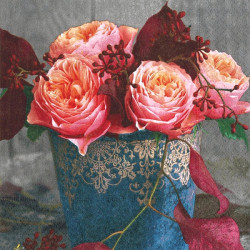 Roses of autumn 33x33