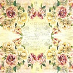 Vintage Roses 33x33