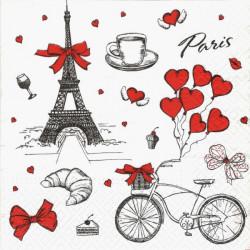 Miluji Francii 33x33