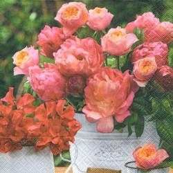 La Boutique de fleurs 33x33