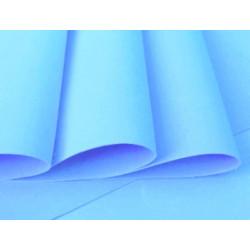 Foamiran 35x29cm, světle modrá
