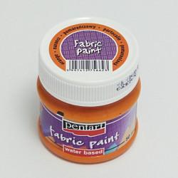 Barva na textil 50ml - pomerančová (Pentart)