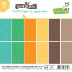 Sada papírů 15x15 Knock on Wood (Lawn Fawn)