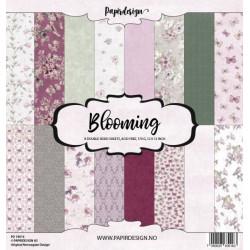 Sada papírů 30,5x30,5 170g Blooming (Papirdesign)