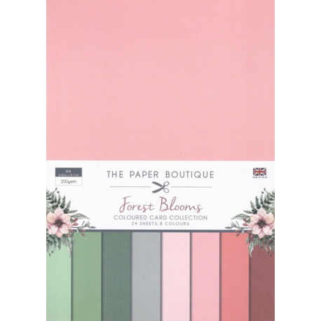Sada papírů A4 Forest Blooms (CW)