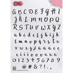 Transp.razítka - abeceda (Nellie´s Choice)