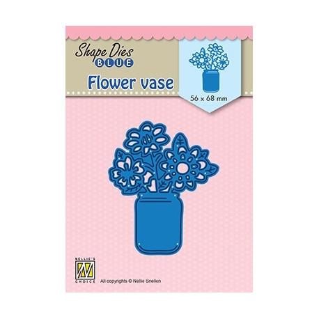 Vyřezávací šablona - Květy ve váze (Nellie´s Choice)