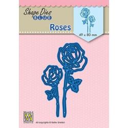 Vyřezávací šablony - Růže (Nellie´s Choice)