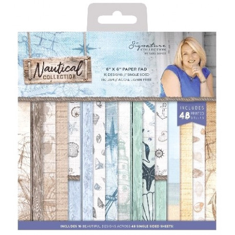 Sada papírů 15x15 Nautical (Crafter´s Companion)