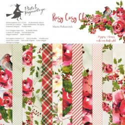 Sada papírů Rosy Cosy Christmas 15x15 (P13)
