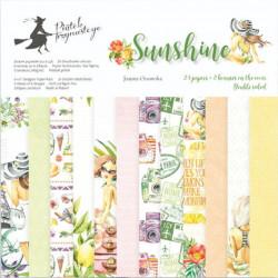 Sada papírů Sunshine 15x15 (P13)