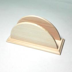 Stojánek na ubrousky s frézovaným okrajem