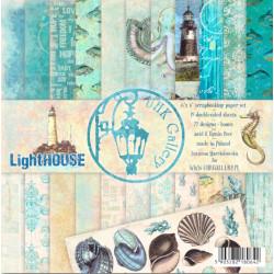 Sada papírů 15x15 Light House (UHK)