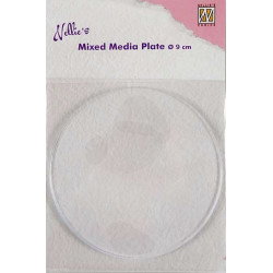 Mix Media Plate - kruh prům.9cm (Nellie´s Choice)