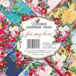 Sada papírů For my Love15x15 (Decorer)