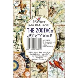 Sada scrap.kartiček 7x10,8cm - The Zodiac II (Decorer)